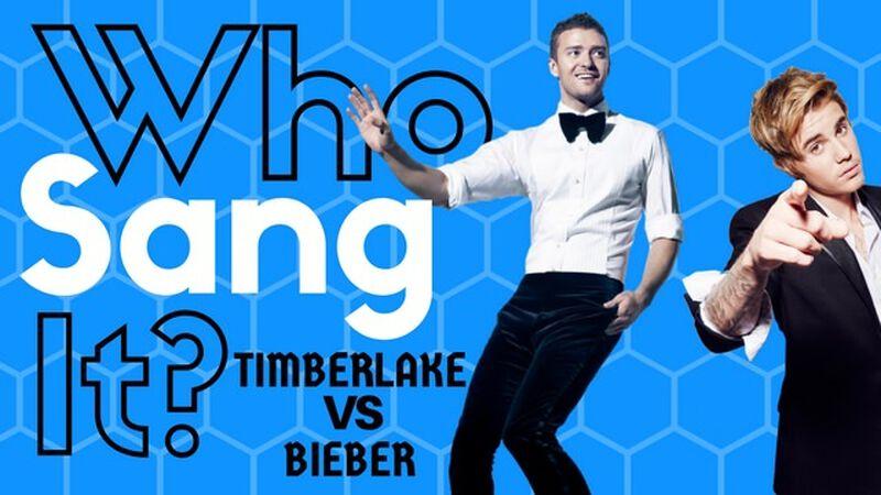 Who Sang It? Timberlake Vs Bieber