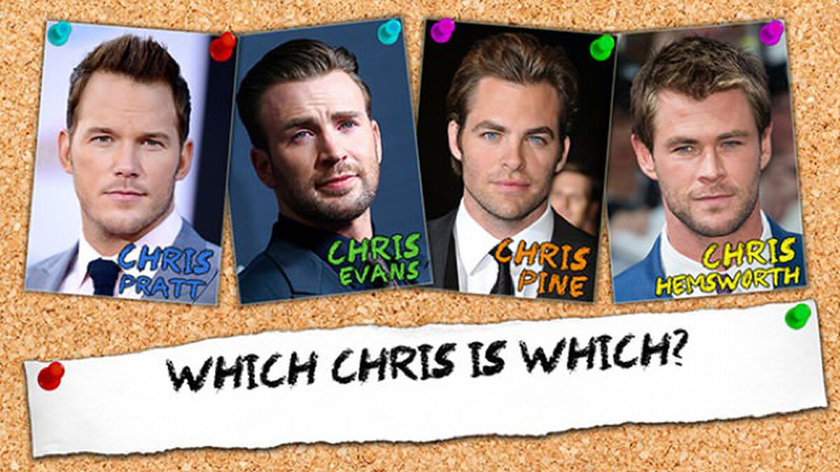 Chris, Chris, Chris, or Chris? image number null