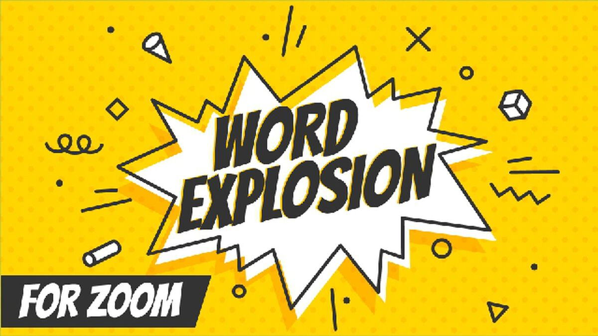 Word Explosion Over Zoom Volume 1 - 3 Pack image number null