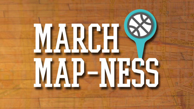 March Map-ness Game