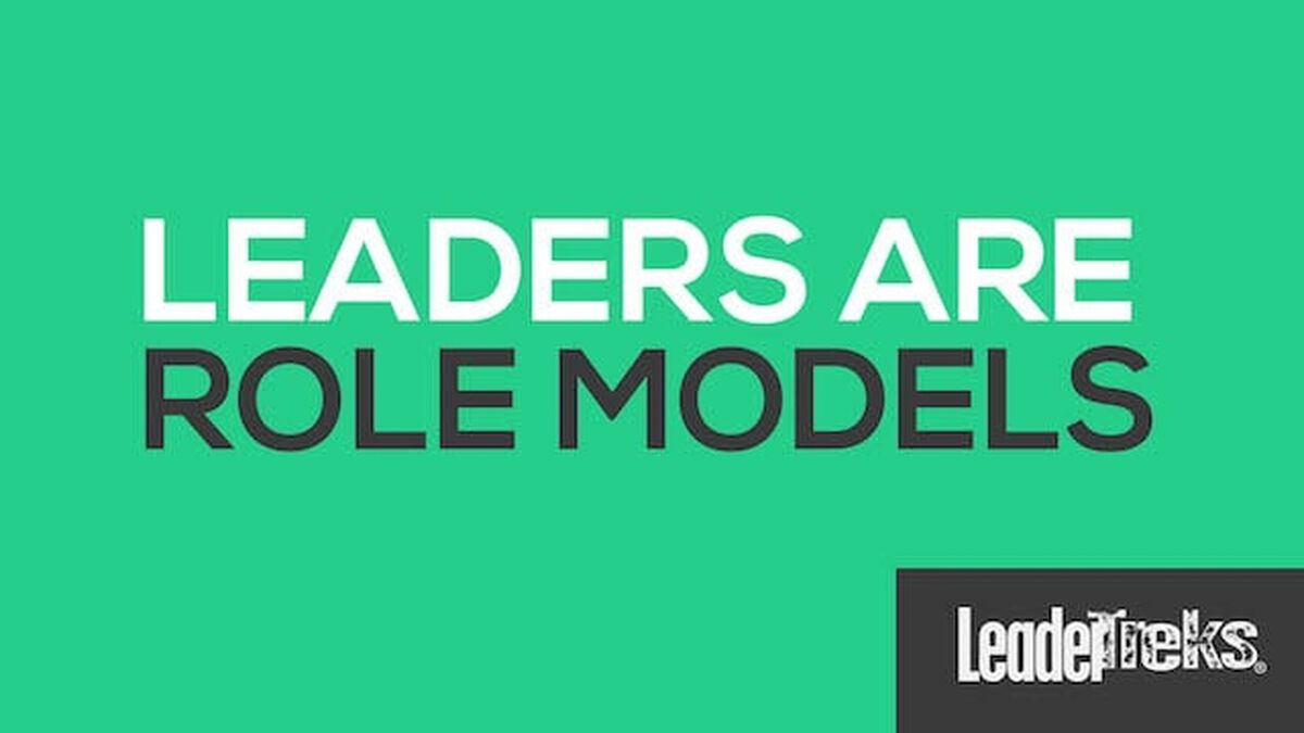 Leaders Are Role Models image number null