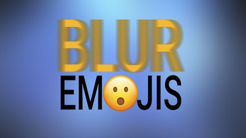 Blur Emojis: Volume 1