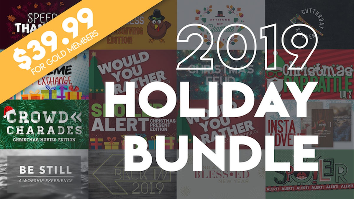 2019 3-Holiday MEGA Programming Bundle - Thanksgiving, Christmas & New Year all covered! image number null