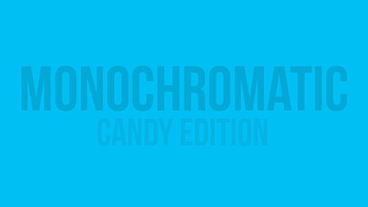 Monochromatic: Candy Edition image number null
