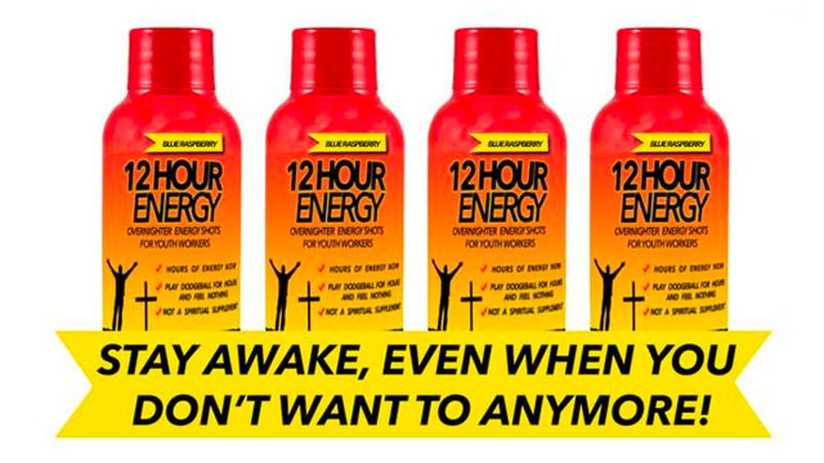 12-Hour #YouthMin Overnighter Energy™ Shots image number null