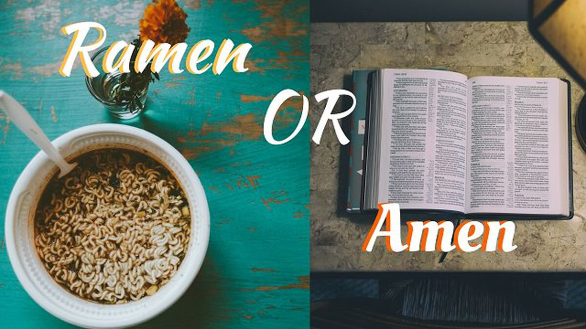 Ramen or Amen image number null