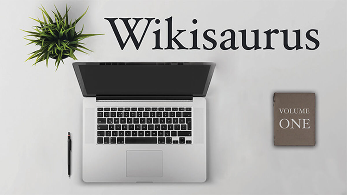 Wikisaurus, Volume One image number null