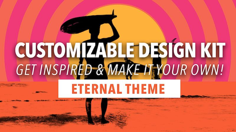 Customizable Design Kit: Eternal Summer Theme