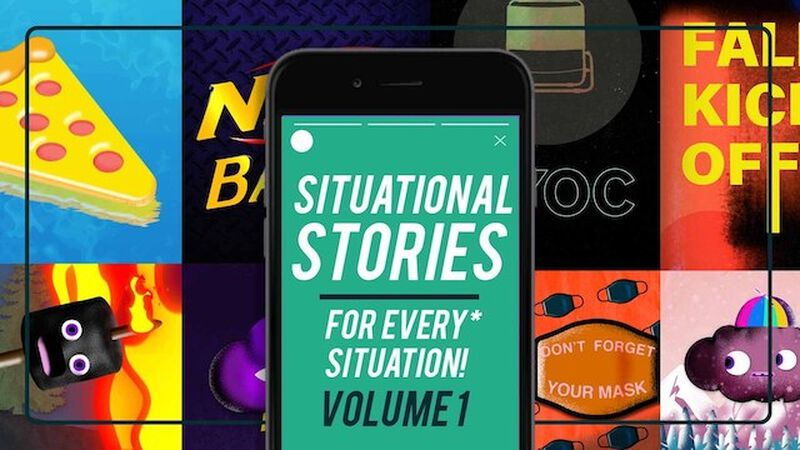 Instagram Story Video Pack: Situational Stories For Every Situation
