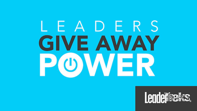 Student Leaders Give Away Power