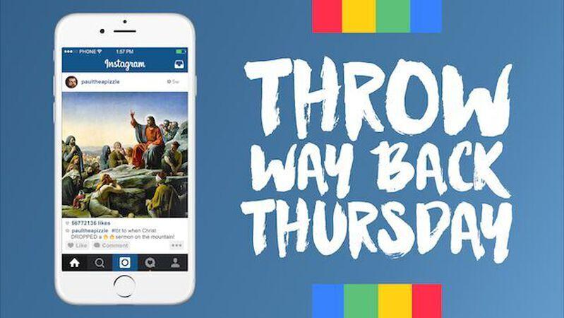 Throw(WAY)back Thursday