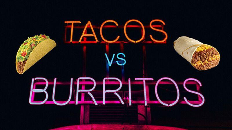 Tacos VS. Burritos (April 2nd , National Burrito Day)