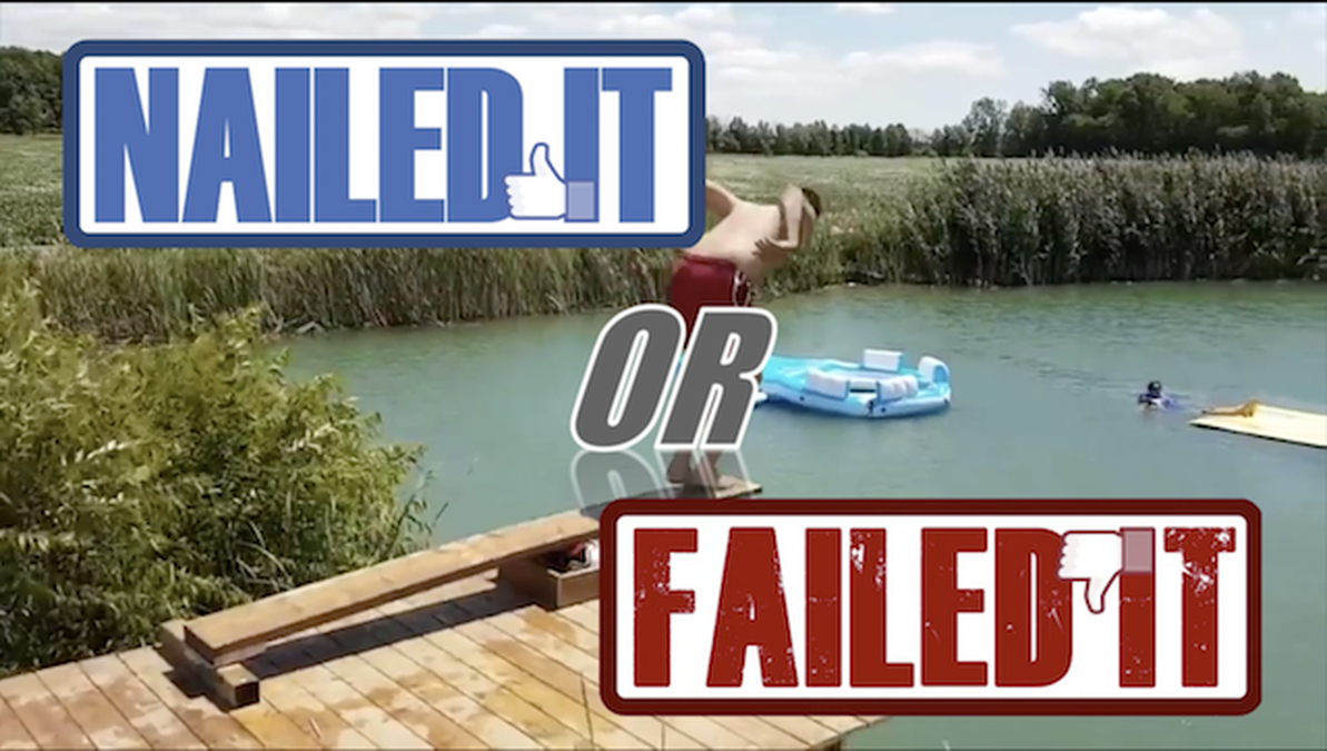 Nailed It or Failed It: Pool Party Edition image number null