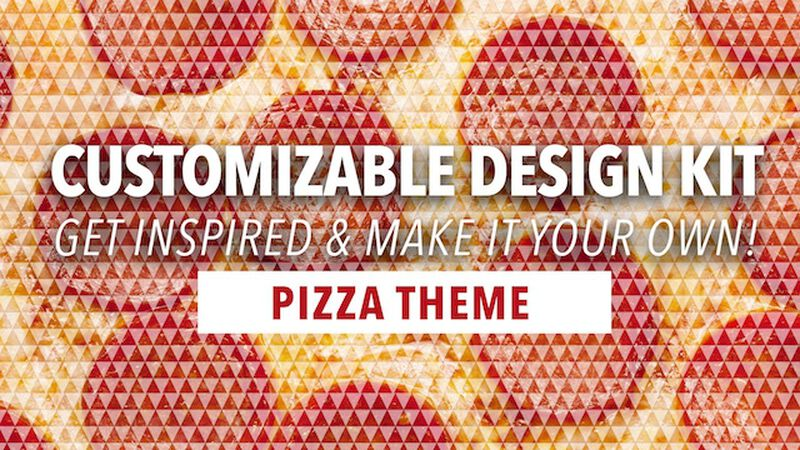 Customizable Design Kit: Pizza Theme