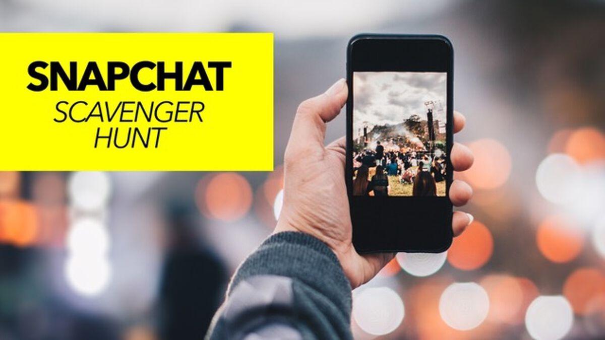 Snapchat Scavenger Hunt image number null