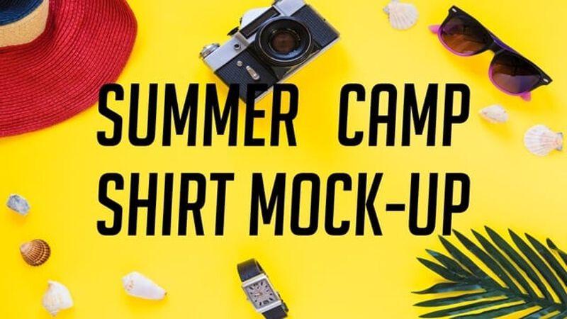 Summer Camp Shirt Mock-Up