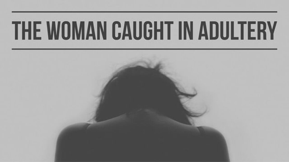 The Woman Caught In Adultery image number null
