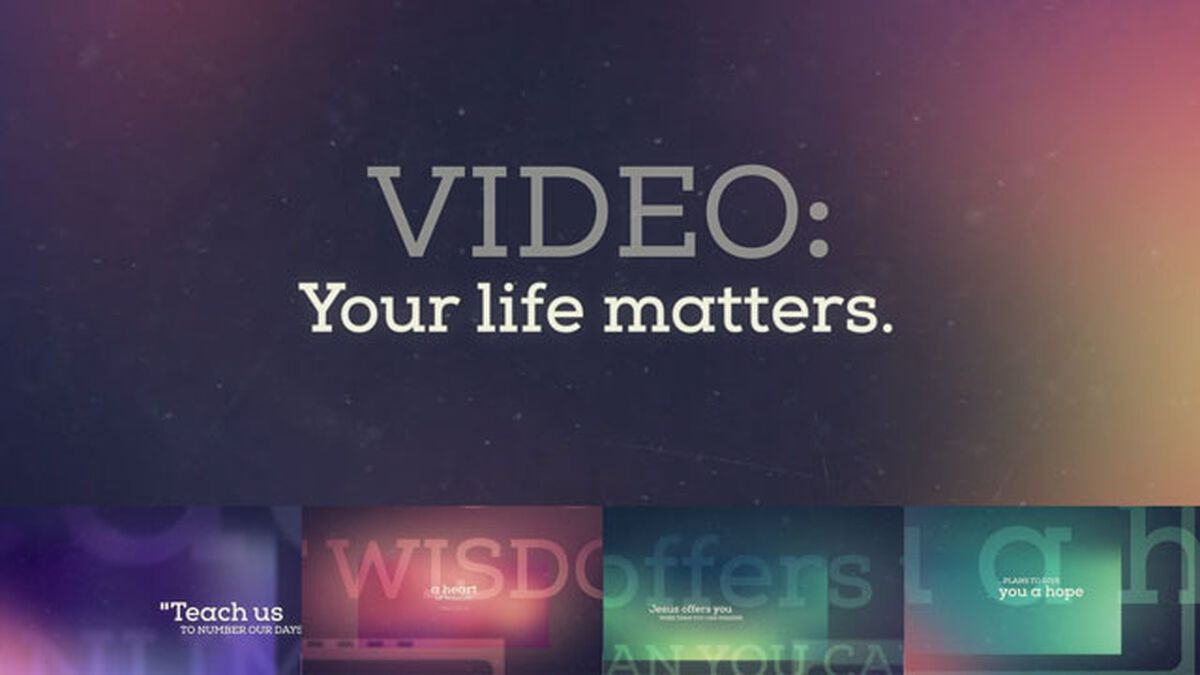 Your Life Matters Video image number null