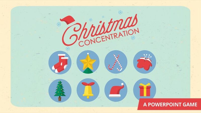 Christmas Concentration
