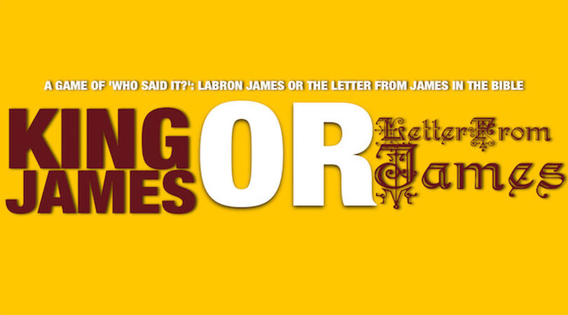 King James or Letter from James