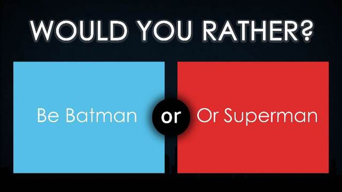 Would You Rather - Superhero Edition image number null
