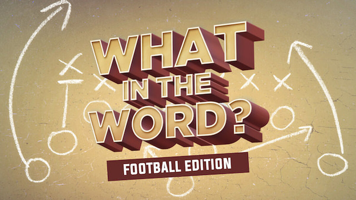 What in the Word? Football Edition image number null