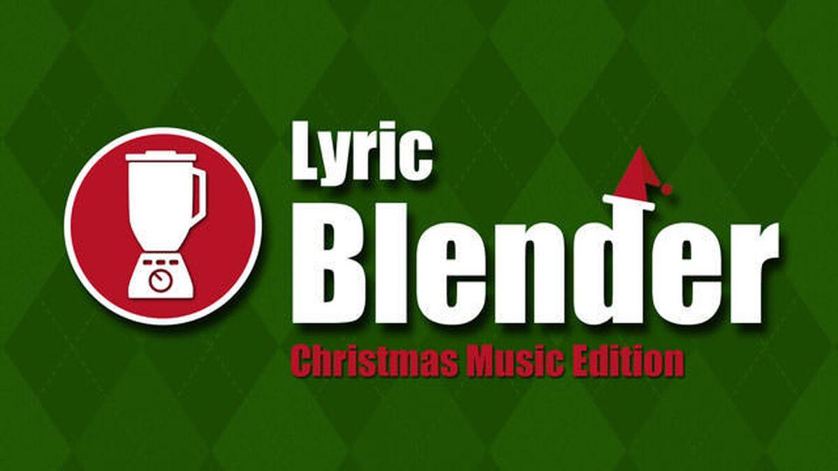 Lyric Blender: Christmas Edition image number null