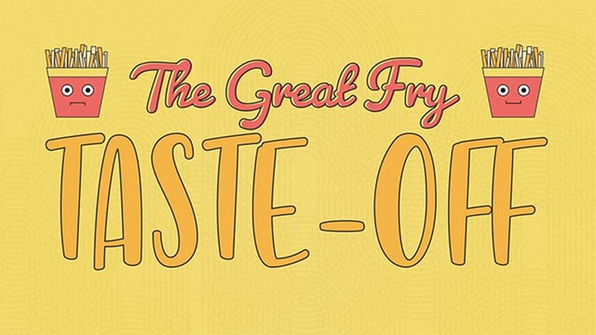 The Great Fry Taste Off image number null