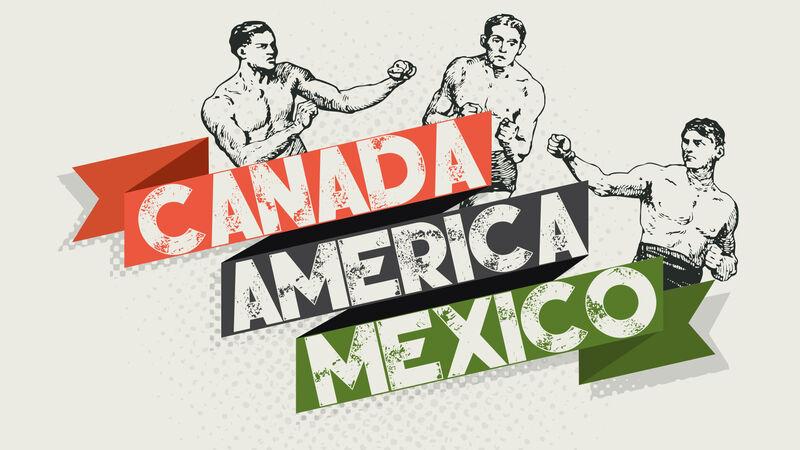 Canada vs America vs Mexico