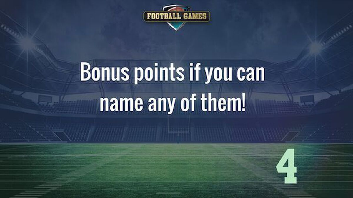 Biblical Names & Football Greats image number null