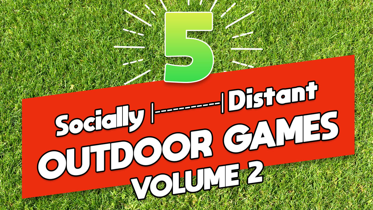 5 Socially Distant Outdoor Games Pack: Volume 2 image number null