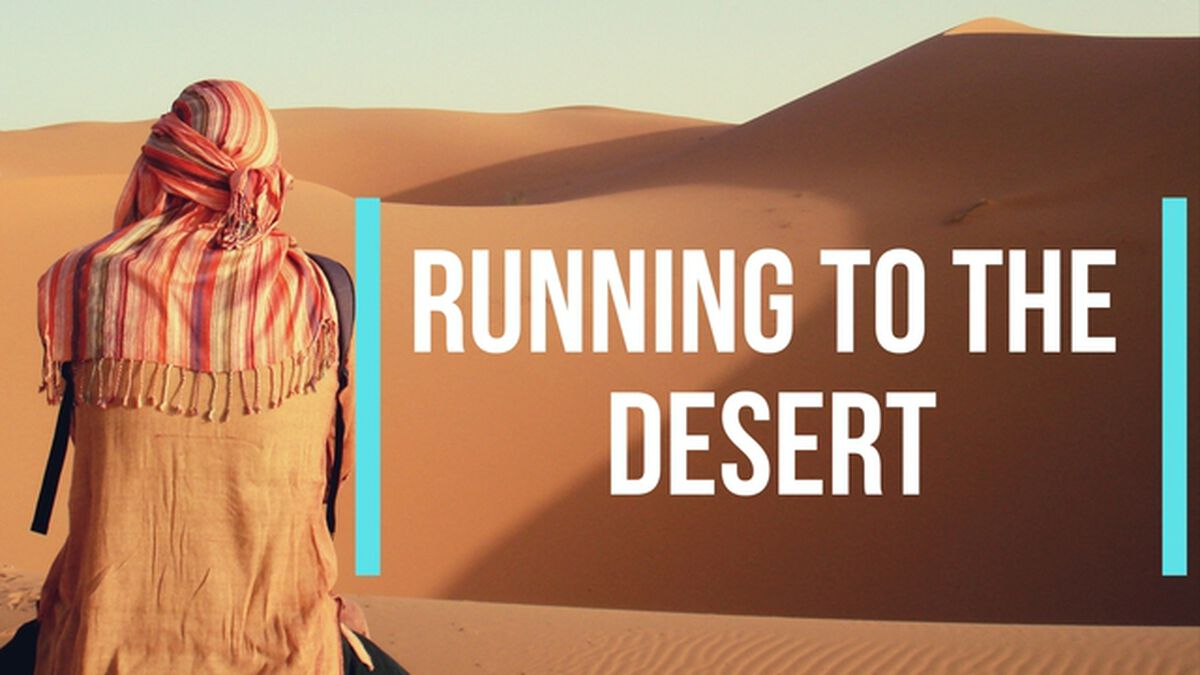 Running to the Desert image number null