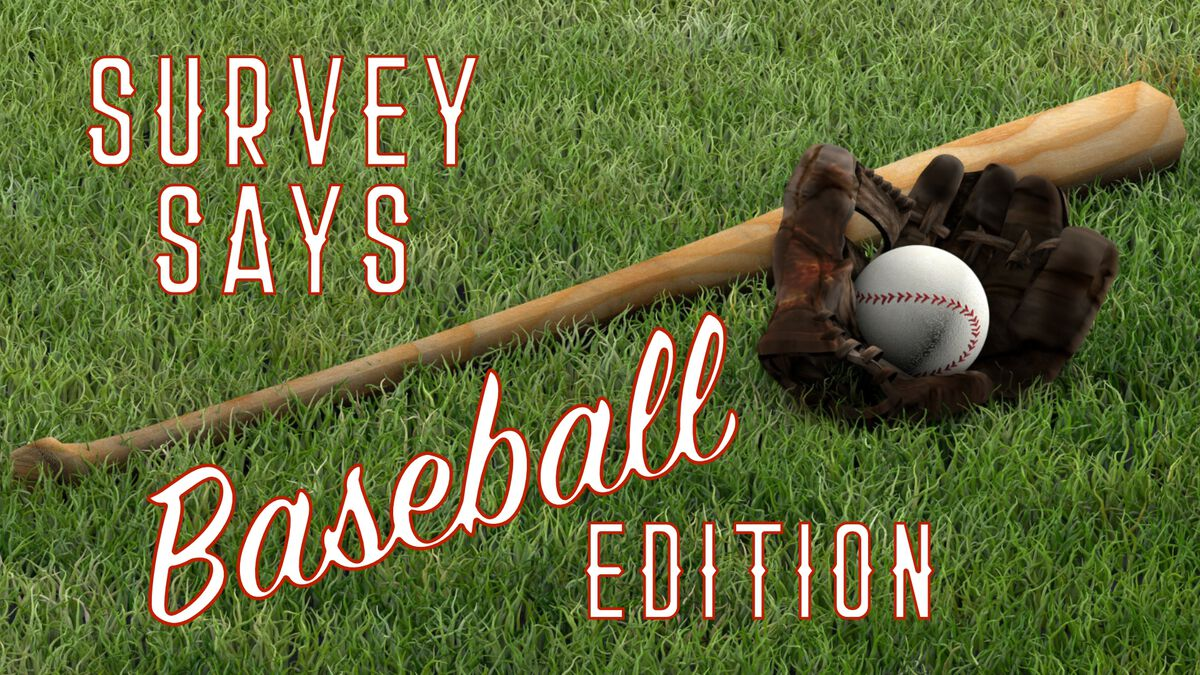 Survey Says Baseball Edition image number null