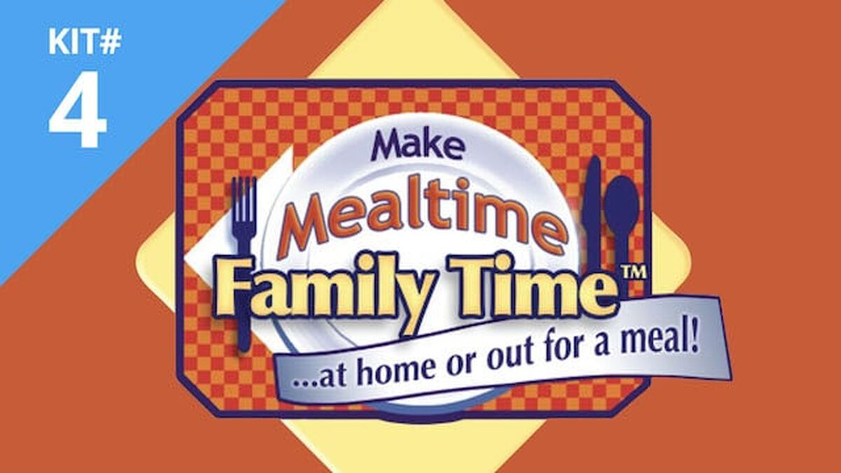 Make Mealtime Family Time Kit #4 image number null
