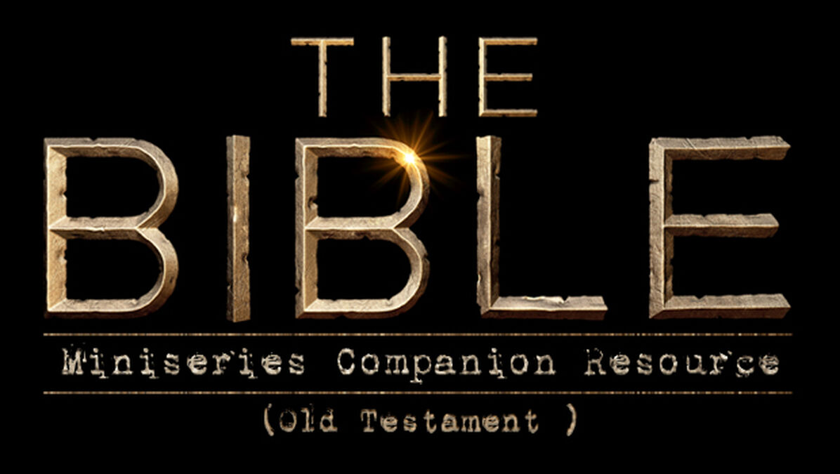 'The Bible' Miniseries Companion Resource (Old Testament) image number null