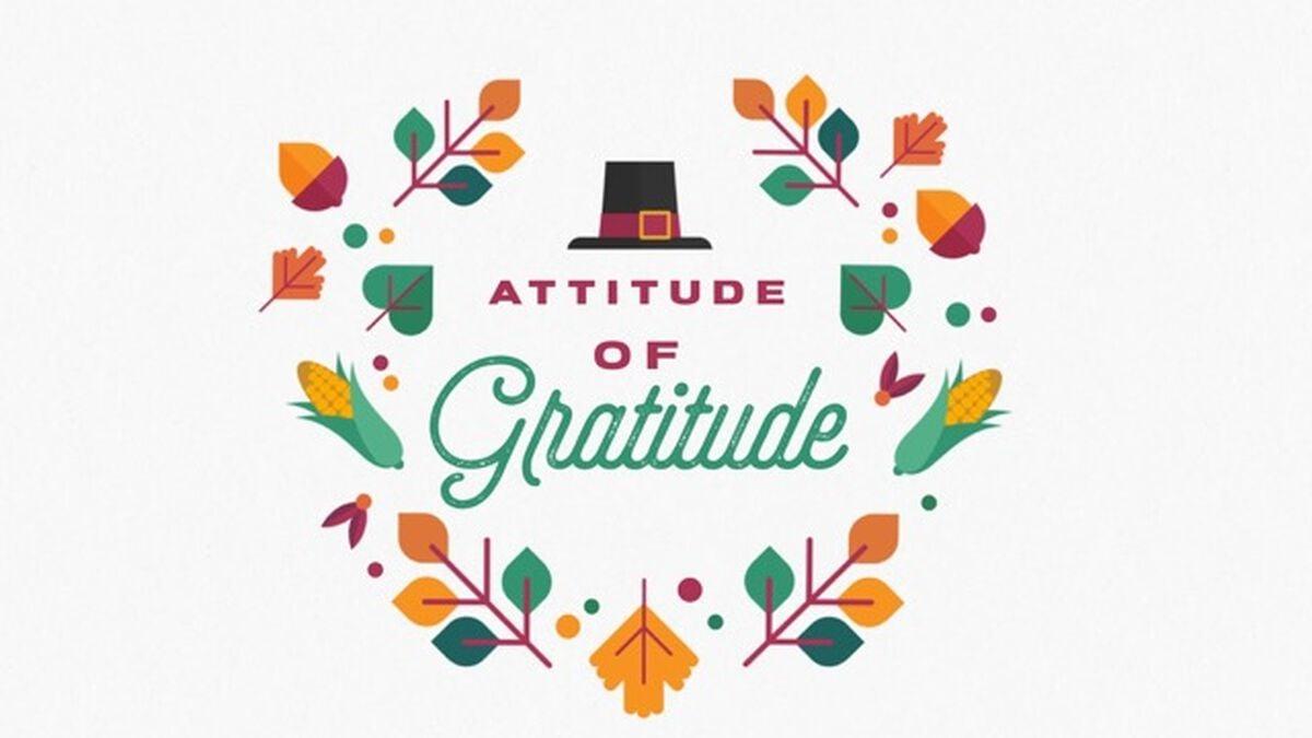 Attitude of Gratitude image number null