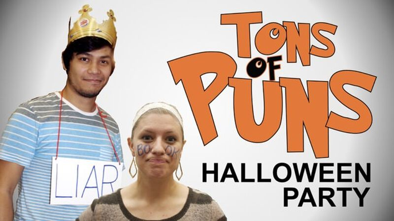 'Tons of Puns' Halloween Party
