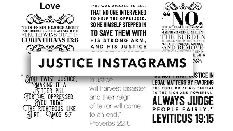 Justice Instagrams