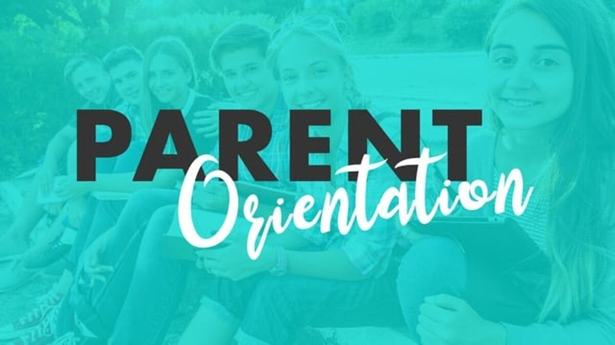 Parent Orientation Meeting image number null