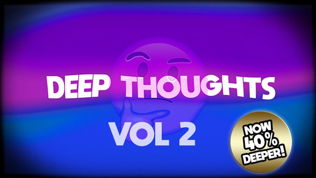 Deep Thoughts Countdown Videos: Volume 1 & 2 image number null