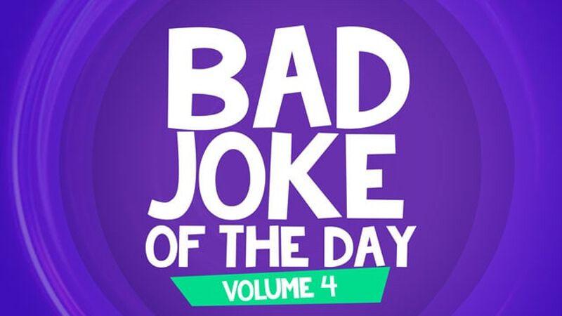 Bad Joke of the Day: Volume 4