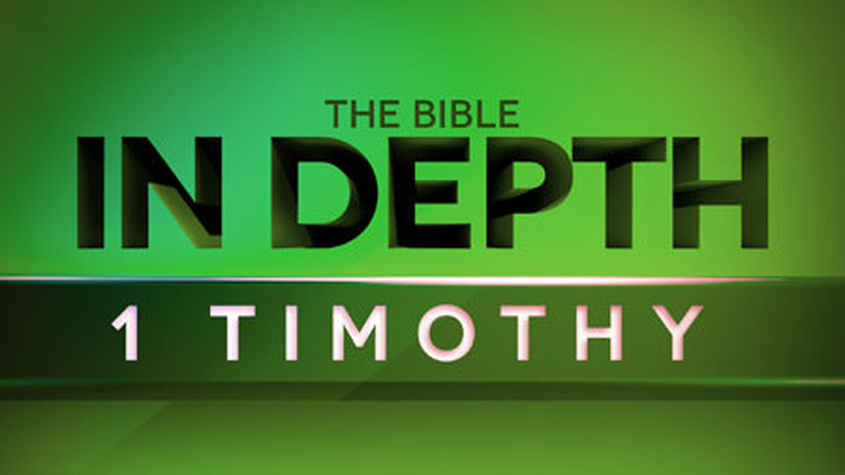The Bible In Depth 1 Timothy image number null
