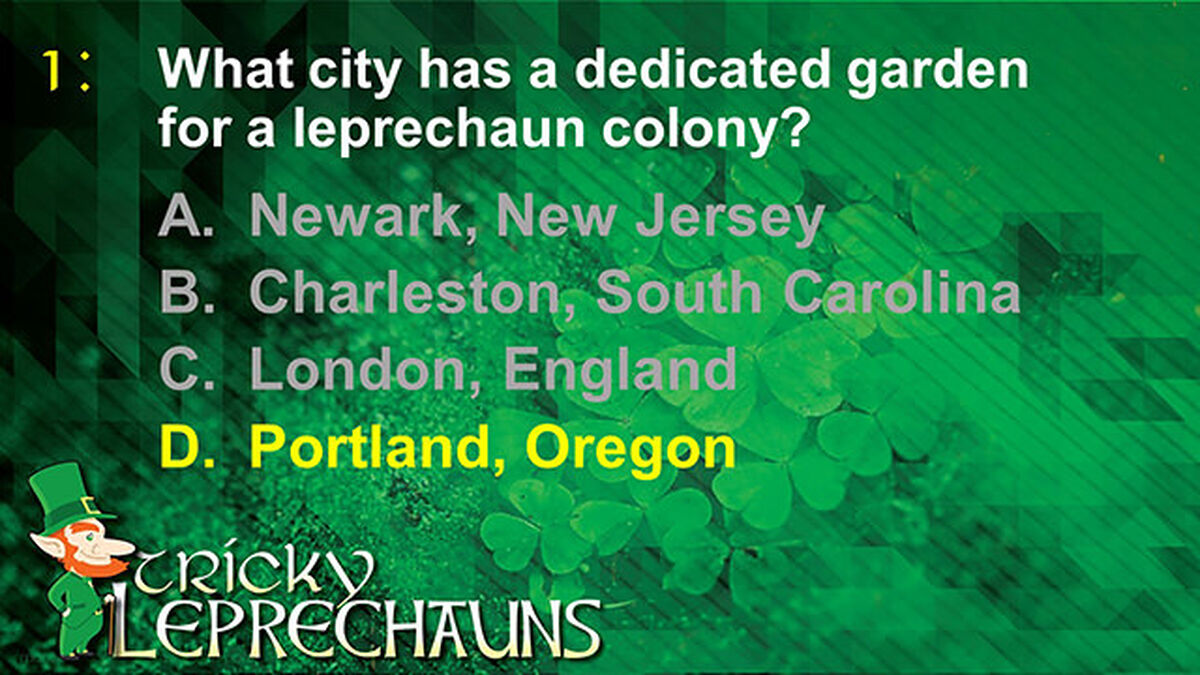 Tricky Leprechauns image number null