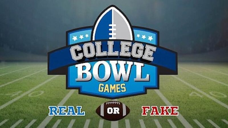 Real/Fake: College Bowl Games