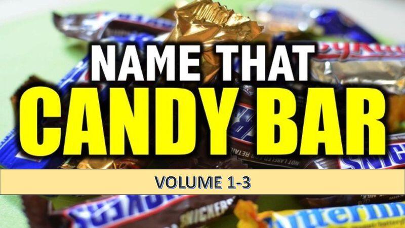Name That Candy Bar Vol 1-3 Bundle