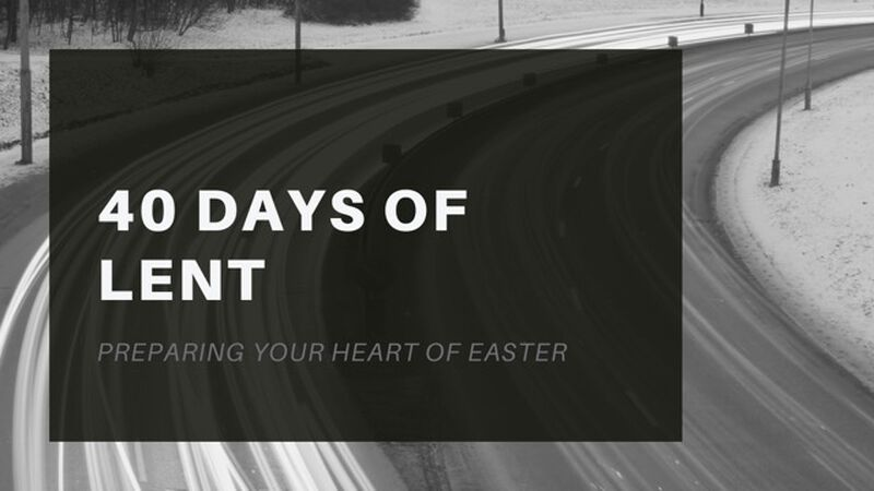 40 Days of Lent Images