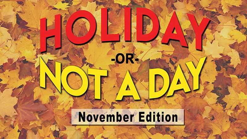 Holiday or Not a Day: November