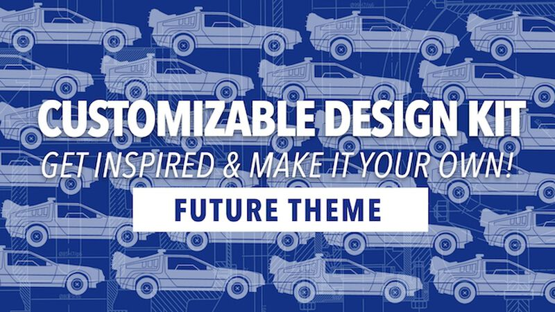 Customizable Design Kit: Future Theme