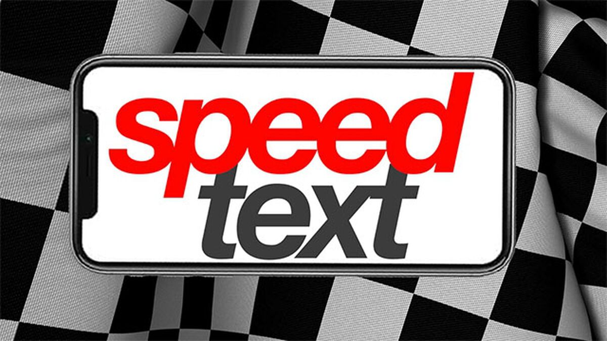 Speed Text image number null