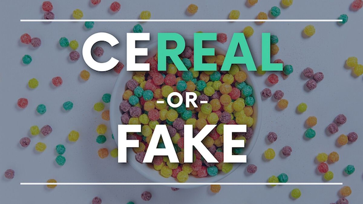 CeReal or Fake image number null